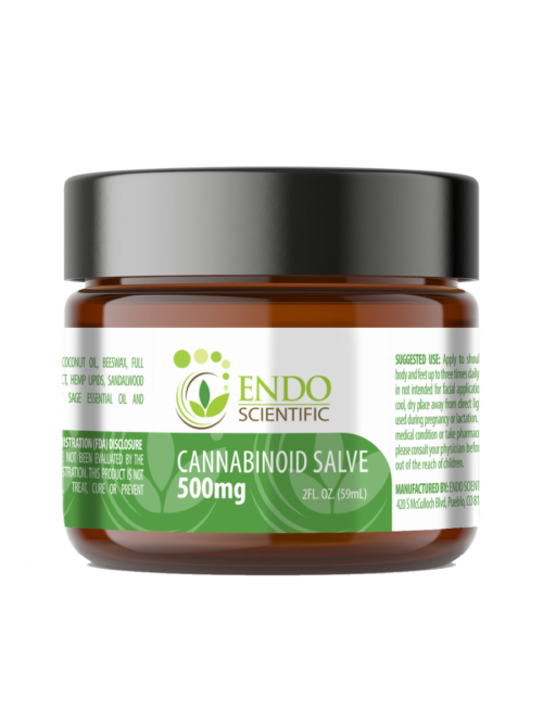 Endo Scientific 500mg Salve